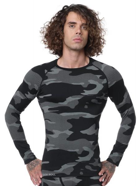 Funktionsshirt Langarm - Camouflage