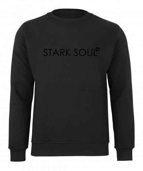 French-Terry-Rundhals-Sweatshirt | Innen angerauht