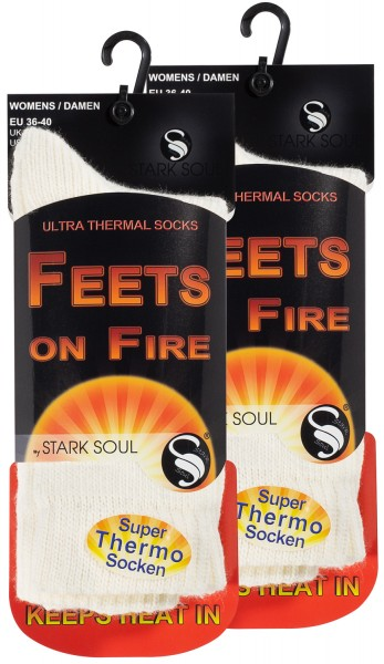 Thermo Socken - FEETS on FIRE, 2er Pack