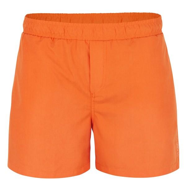 Badeshort Herren, orange